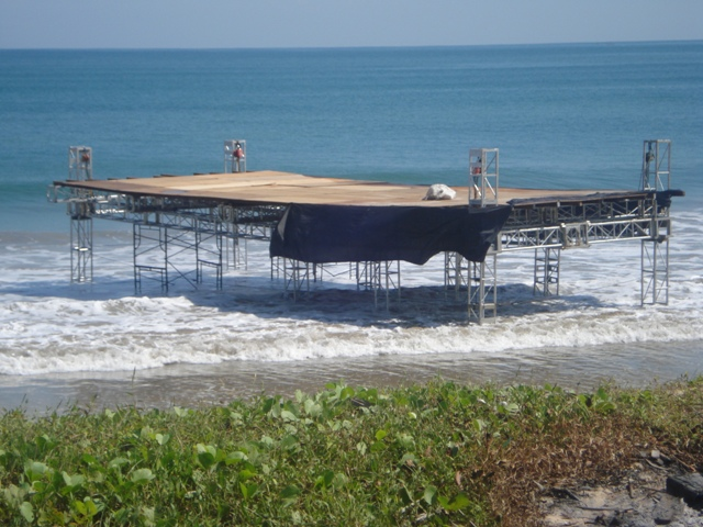 Beach Floating Stage